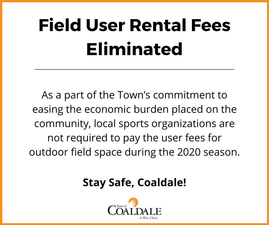 Field User Rental Fees