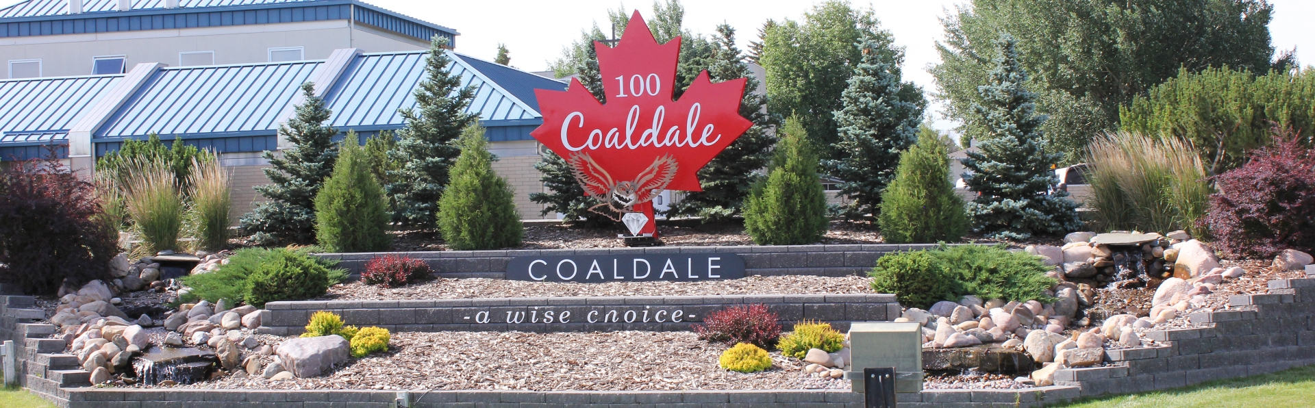 Coaldale Welcomes you sign 100th