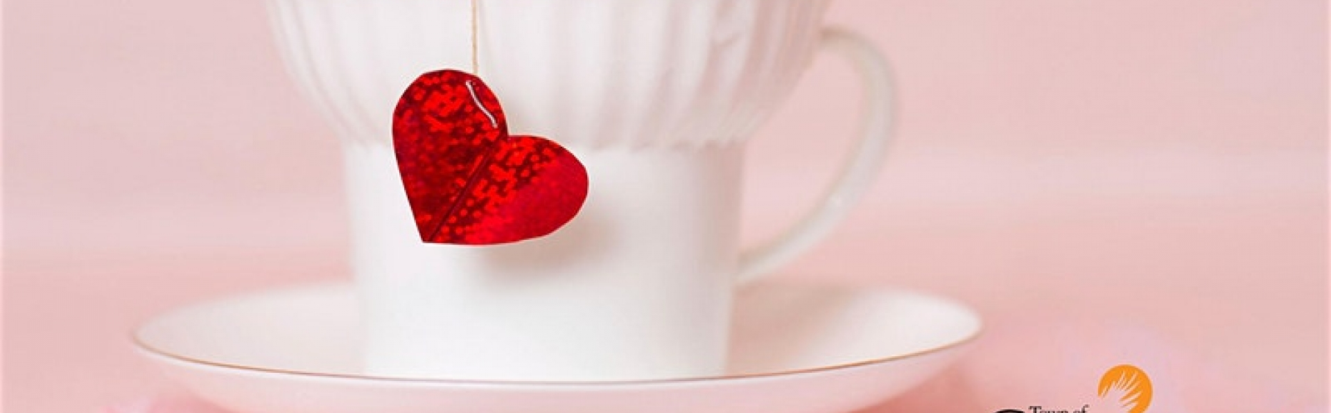 Valentines day high tea service